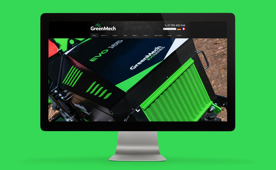 Website Design - GreenMech