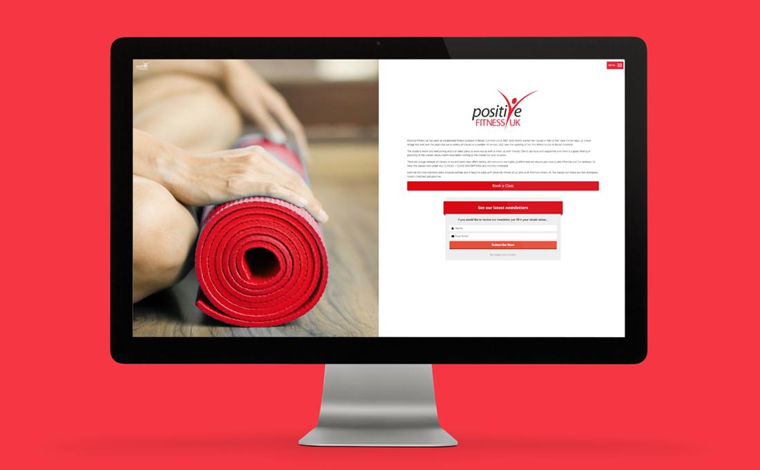 Website Design - Positive Fitness